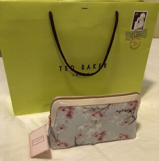 a7573709558e9 Ted Baker Clutch Cosmetic Pouch Bag Brand New