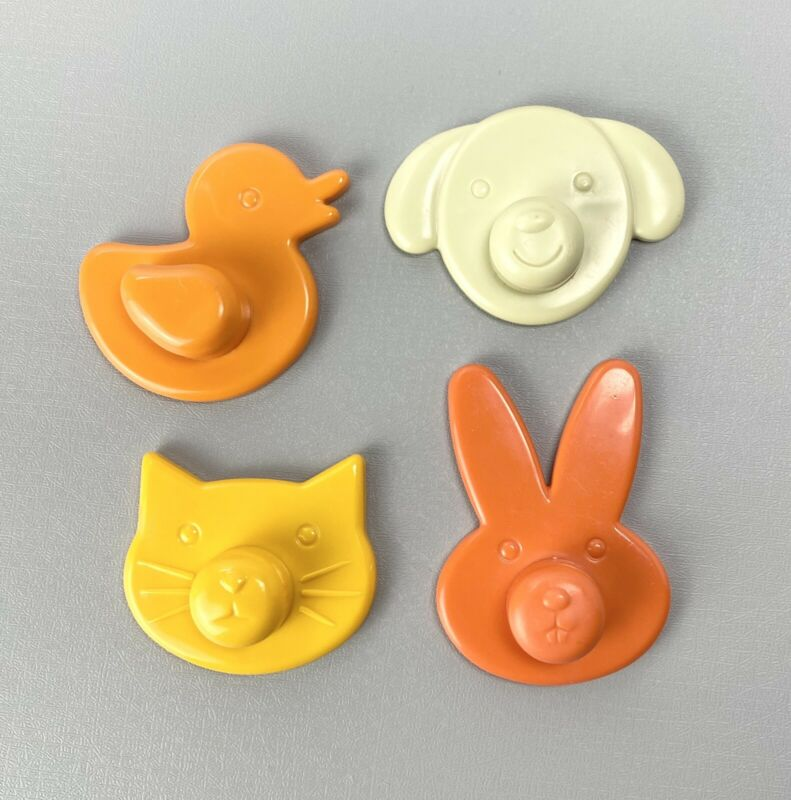 Laptrec Animal Magnetic Drawing Board Doodle Magnets Cat Dog Bunny Duck Set