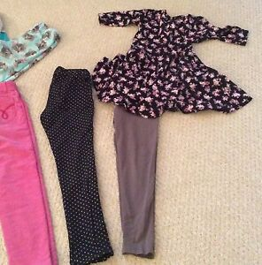 Lot Of 7 Girls Pants Dress Top Size 8 (7-8 Year Old) Cambridge Kitchener Area image 3