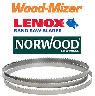 Qty 10 Bandsaw Sawmill Blades Wood-mizer 132 158 1.25 X .042 X 78t