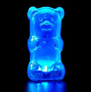 Lamp Gummy Bear Night Light Blue