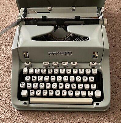 Hermes 3000 manual typewriter