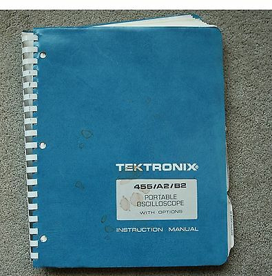 Tektronix 455 Original Service Manual With All Schematic. Parts 070-1907-01