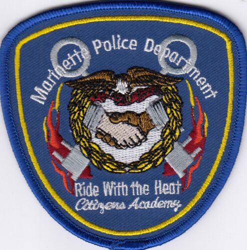 MARINETTE POLICE DEPARTMENT CITIZENS ACADEMY WISCONSIN WI PATCH