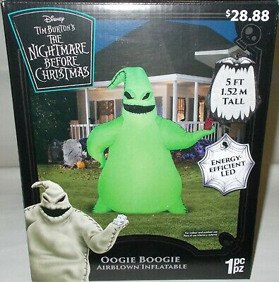 Oogie Boogie Halloween Airblown Inflatable 5FT Nightmare Before Christmas Ghost