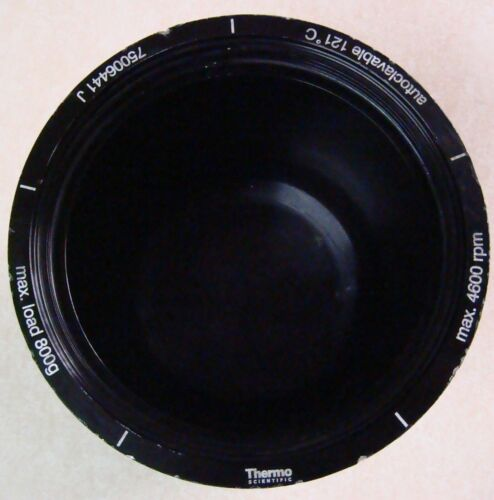 Thermo Scientific 75006441 J  Autoclavable Centrifuge Rotor Bucket