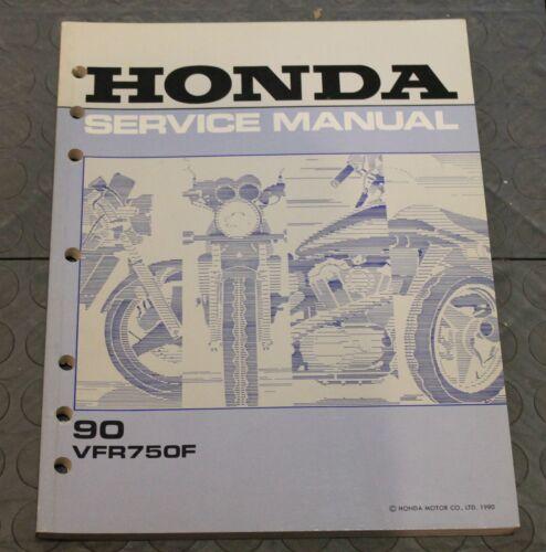 NOS OEM Honda Service Shop Manual NEW 90 VFR750F VFR 750 F