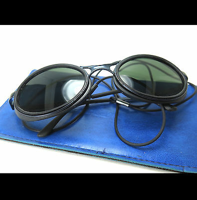 VINTAGE VUARNET SUN GLASSES PX3000 EXPEDITION GLACIER CLIMBING MOUNTAINEERING