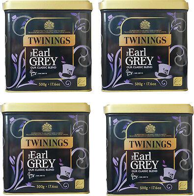 2 KG, Twinings Earl Grey Tee, 4 Dosen je 500 g