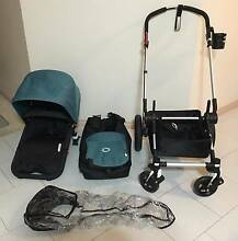 Bugaboo Cameleon 3 Petrol Blue + Seat Liner AND Cup Holder Mitcham Whitehorse Area Preview