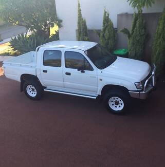 Wanted White Hilux Canopy 2003 Dual Cab