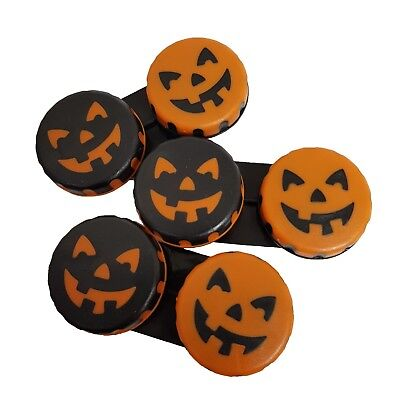 Halloween Contact Lenses Uk (3 x Limited Edition Halloween Contact Lens Storage Soaking Case - UK)