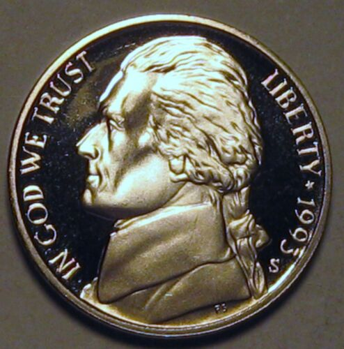 1993-S Proof Jefferson Nickel Full Steps Nice Coins Priced Right Shipped FREE