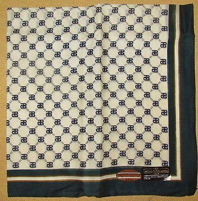 PAORO GUCCI *Brown Frame *Mark-Checks Handkerchief /GYUZOU*77