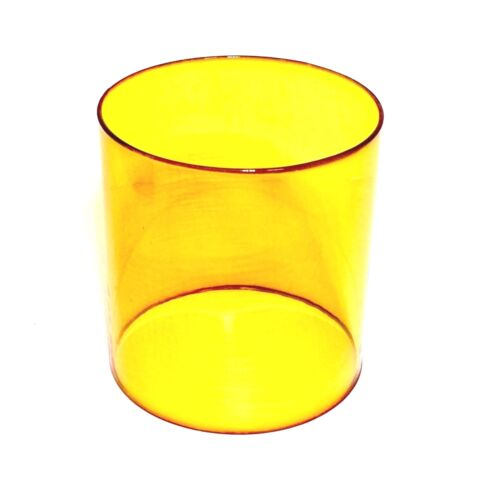Replacement AMBER Lantern Globe - FOR COLEMAN 214 282 285 286 288 5150 + MORE