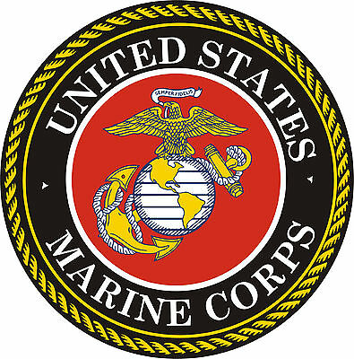 Home Decoration - UNITED STATES MARINE CORPS Vinyl Decal / Sticker ** 5 Sizes **