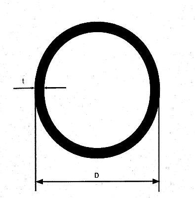 100 cm  V4A Edelstahlrohr 1.4571 Rundrohr Rohr D=14x1 mm roh Leitungsrohr gebraucht kaufen  Dortmund