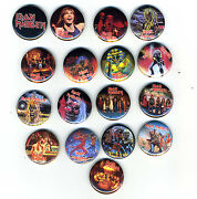 Iron Maiden Buttons