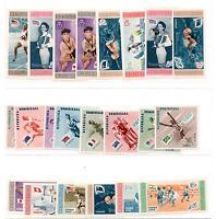 Rep. Dominicana - Anni '50 Serie Olimpiche Nuove 40 Francobolli E 6 Foglietti -  - ebay.it