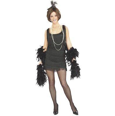 asching Kostüm Charleston Flapper schwarz 20er Jahre Sexy M (20 Halloween-kostüm)