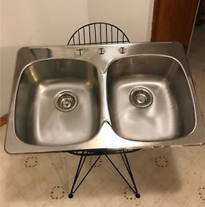 Brand new stainless steel sink (never installed)