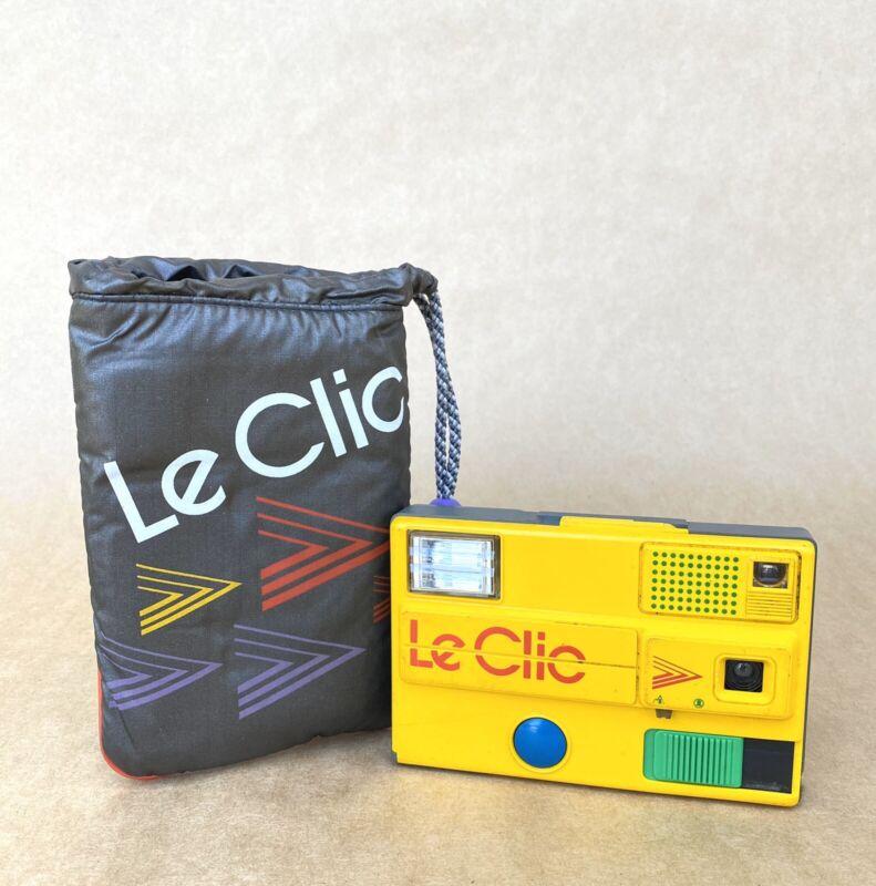 Le Clic Vintage Film Camera (Disc Film) W/ Original Camera Pouch
