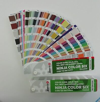 Color All-in-one Uncoated 35.399 Colors For Process And Digital Print Pantone...