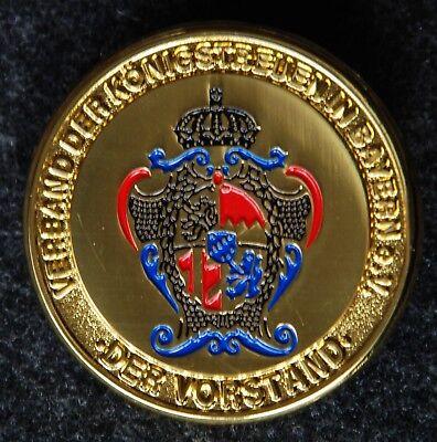 Abzeichen des Verbandes der Königstreuen, König, Verband, Abzeichen, Rarität