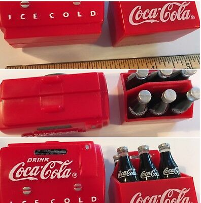Coca-Cola Vending Machine Design Six Pack Coke Magnet Lot of 2  SKU 049-09