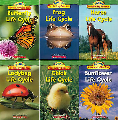 - Scholastic  Science  Vocabulary  Readers Life Cycles (6 Paperback Book Set)