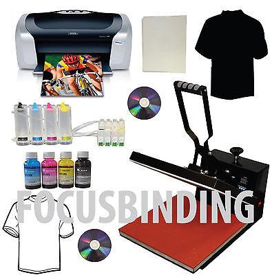 New Heat Press 15x15 Transfer Pressprinterciss Ink Systemtshirt Heat Transfer