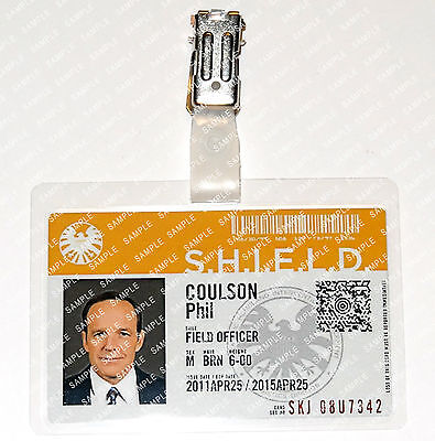 Marvel Agents of S.H.I.E.L.D. Phil Coulson Cosplay Costume Comic Con Halloween