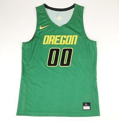 New Nike Unlimited Oregon Ducks Basketball Game Jersey Men's Large Green 930553 (Oregon Ducks Jersey Basketball)