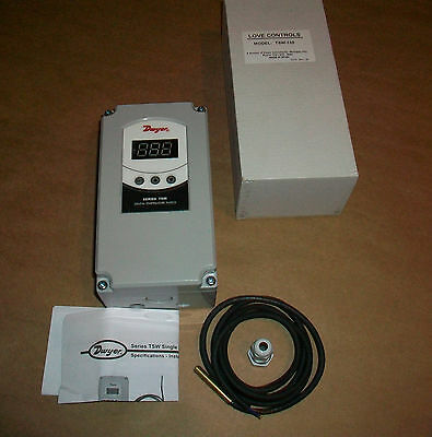 Love Controls Temperature Control Tsw-150 New  -58 - 302 F