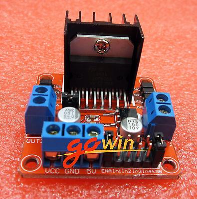 Stepper Motor Drive Controller Board Module L298n Dual H Bridge Dc Arduino L1st