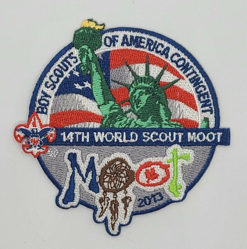 BSA 14th World Scout Moot Participant Patch