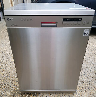 LG STAINLESS STEEL DIRECT DRIVE DISHWASHER