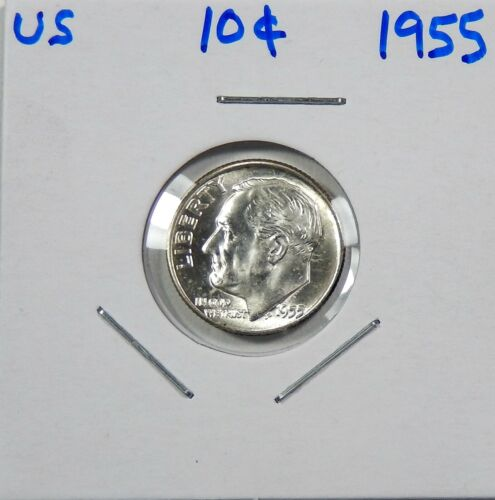 1955 Roosevelt Dime   Choice to Gem Uncirculated