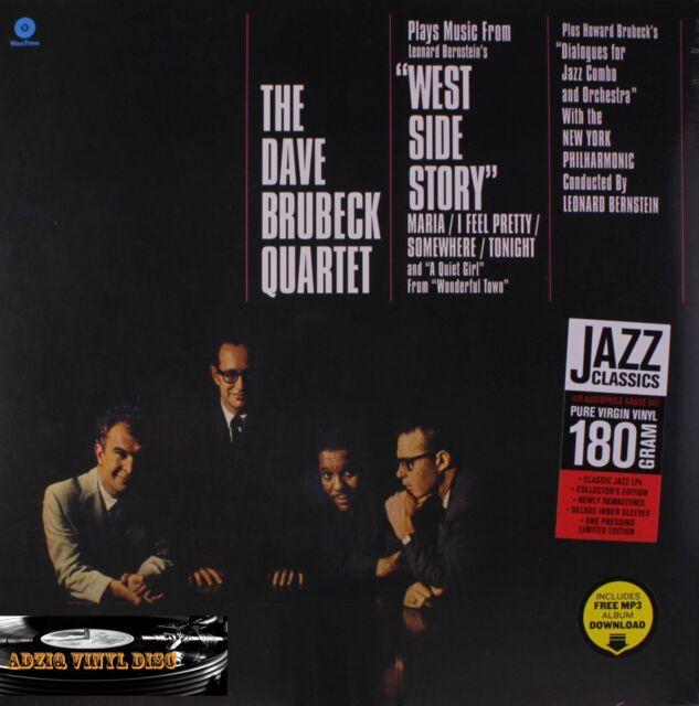 ♫ 33T-THE DAVE BRUBECK QUARTET-PLAYS MUSIC LEONARD BERNSTEIN'S-WEST SIDE STORY ♫