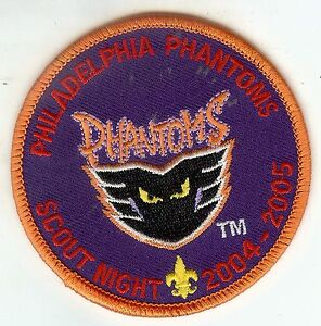 Boy-Scouts-of-America-BSA-Philadelphia-Phantoms-Hockey-AHL-Night-Patch-2004-2005
