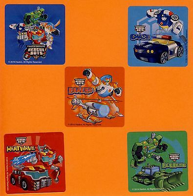 Rescue Bots Party Favors (15 Transformers Rescue Bots - Large Stickers - Party Favors -)