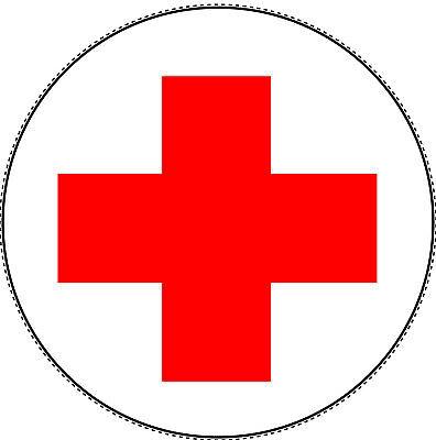 3x Rotes Kreuz Aufkleber 5cm Verbandskasten Medizinschrank Erste Hilfe Ru - Rote Medizin