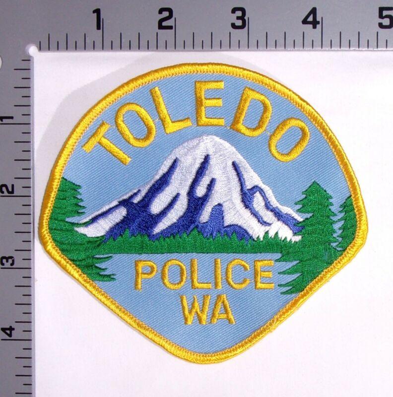 Toledo Washington Police Department Shoulder Patch