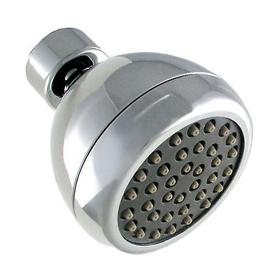 LDR 620 1001CP Water Saving Shower Head 1 Function Chrome Finish
