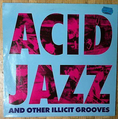 VARIOUS ARTISTS Acid Jazz & Other Illicit Grooves LP/GER