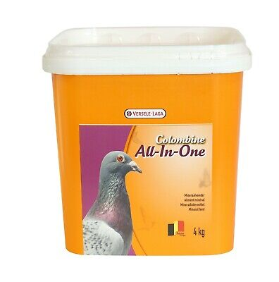 Versele Laga Colombine All-In-One 4kg PIGEON MINERAL MIX WITH REDSTONE (VL992)