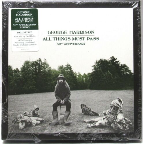 George Harrison - ALL THINGS MUST PASS (CD, 3 Discs, Deluxe) 50th Anniv >SEALED<