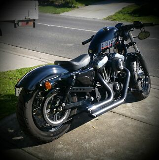 Harley Davidson Forty Eight Roxburgh Park Hume Area Preview
