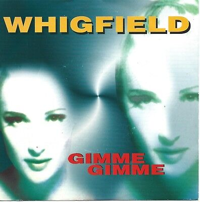 """Whigfield - Gimme Gimme: 2 Versions (7"""" ZYX-Records Vinyl-Single Germany 1996)"""
