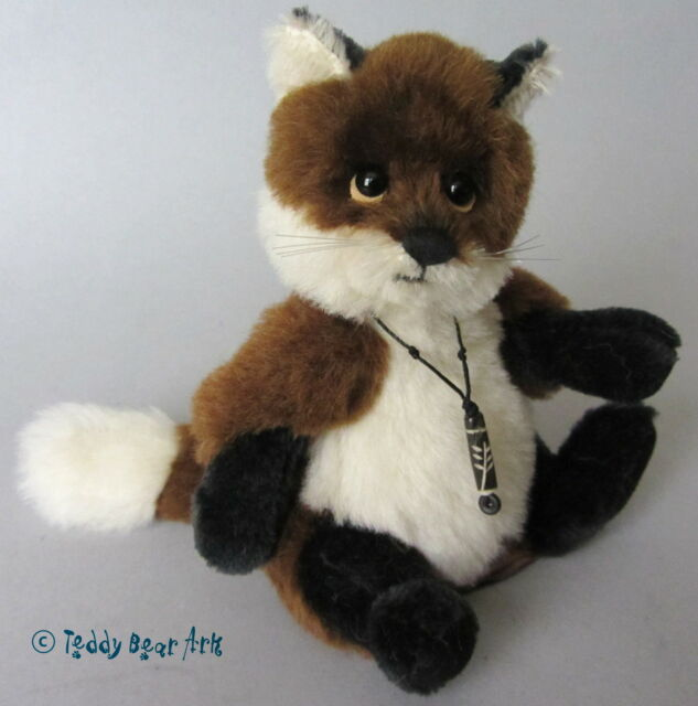 Charlie Bears TOWNEND FOX - MINIMO Alpaca and Mohair Bear MM645304 ref 507